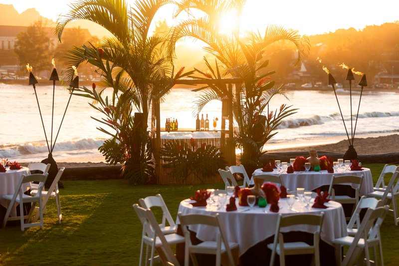 Kauai Marriott Resort-Beachfront Lawn - Sunset Luau<br/>Image from Leonardo