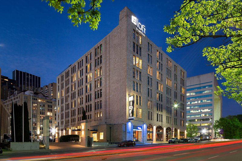 Aloft Dallas Downtown-Exterior<br/>Image from Leonardo