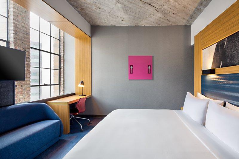 Aloft Dallas Downtown-King Aloft Guest Room<br/>Image from Leonardo