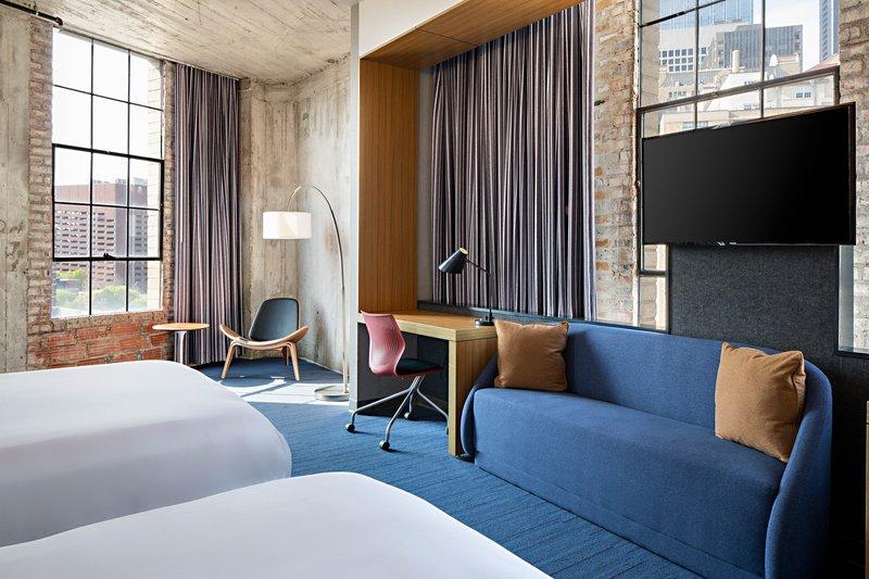Aloft Dallas Downtown-Queen/Queen Savvy Suite<br/>Image from Leonardo