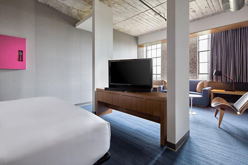 Aloft Dallas Downtown-King Savvy Suite<br/>Image from Leonardo