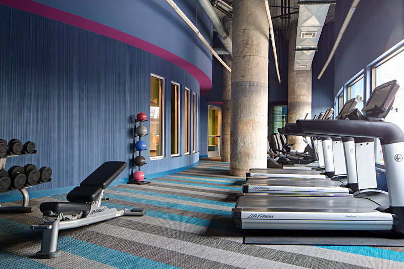 Aloft Dallas Downtown-re:charge(SM) gym<br/>Image from Leonardo