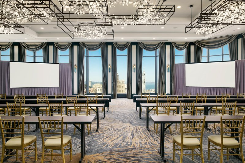 The Westin St. Francis - Golden Gate Classroom Dual Screen <br/>Image from Leonardo