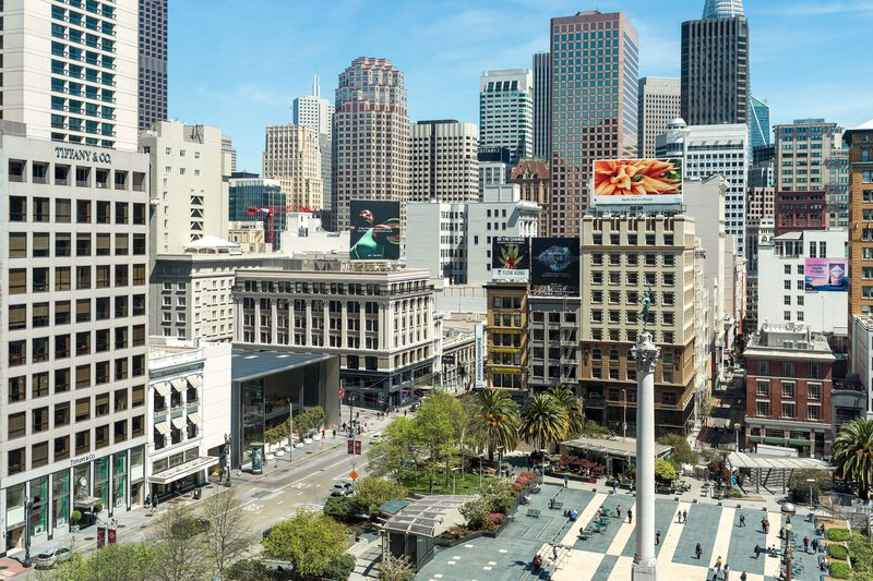 The Westin St. Francis - Union Square View <br/>Image from Leonardo