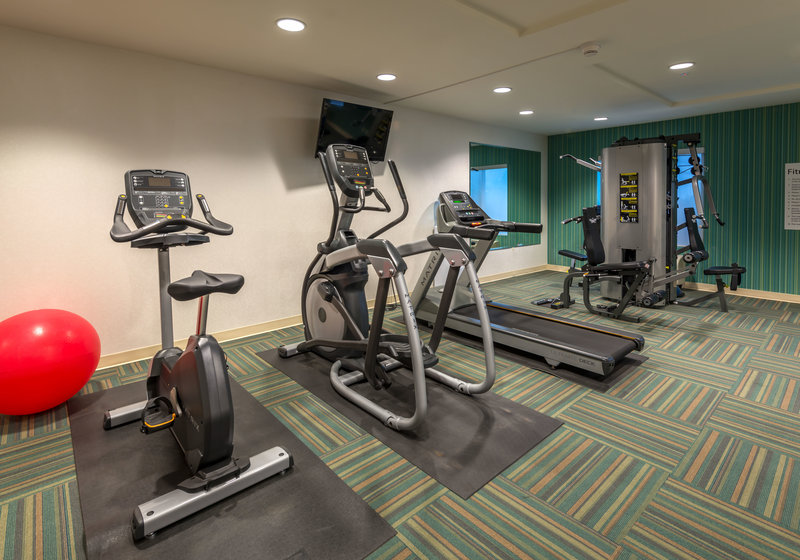 Holiday Inn Express & Suites Carson City-Fitness Center Open 24 Hours.<br/>Image from Leonardo