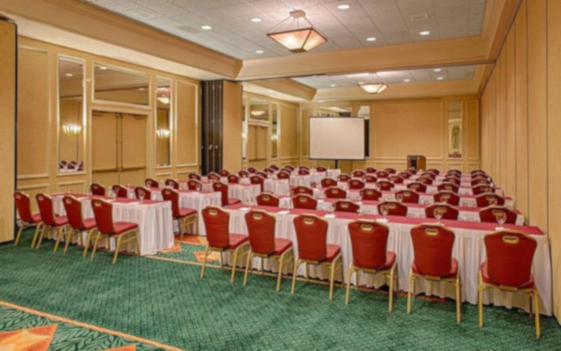 Crowne Plaza Austin-Meeting room setting in classroom style<br/>Image from Leonardo