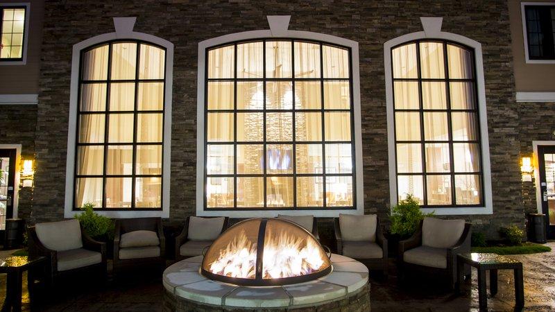 Staybridge Suites Lexington-Staybridge Suites Lexington, KY fire pit area<br/>Image from Leonardo