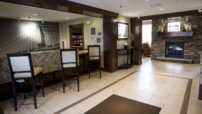 Staybridge Suites Lexington-Staybridge Suites Lexington, KY front desk<br/>Image from Leonardo