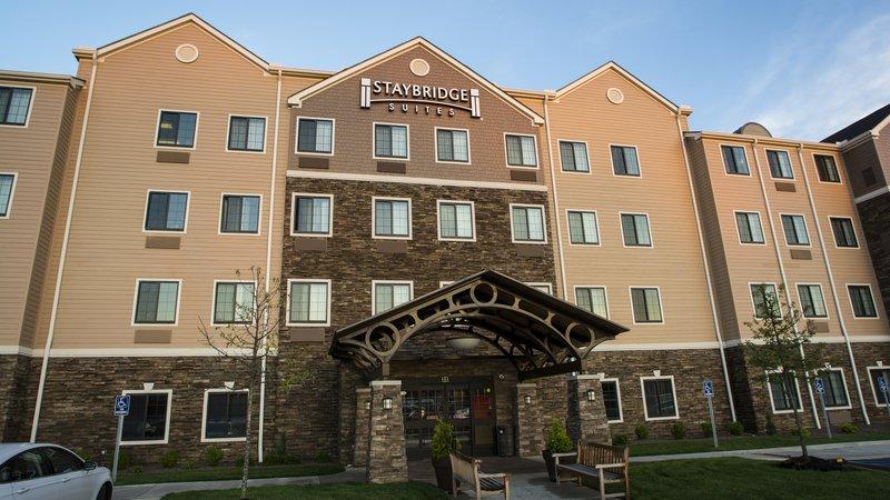 Staybridge Suites Lexington-Staybridge Suites Lexington KY hotel entrance<br/>Image from Leonardo