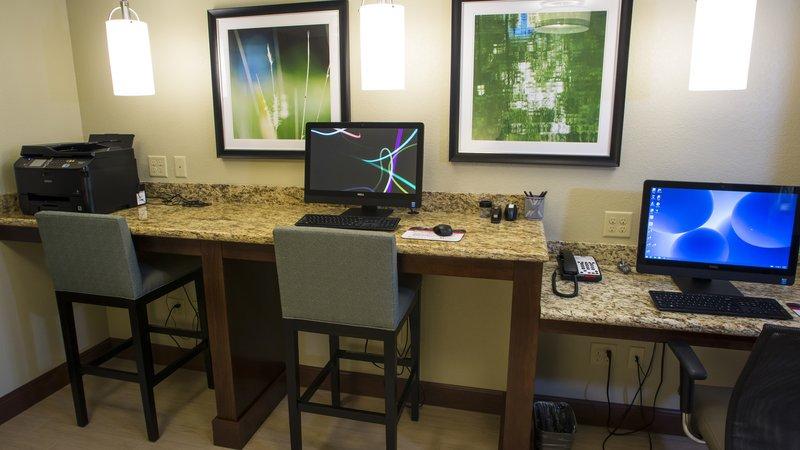 Staybridge Suites Lexington-Staybridge Suites Lexington, KY business center<br/>Image from Leonardo