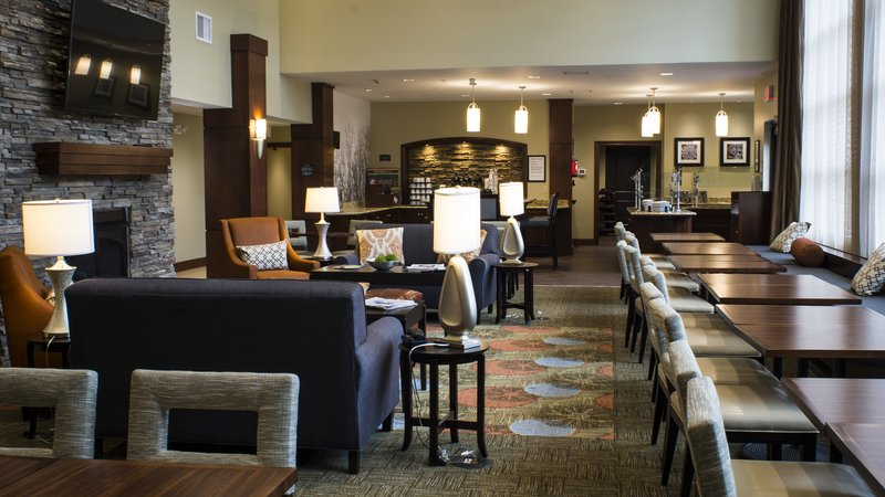 Staybridge Suites Lexington-Staybridge Suites Lexington KY breakfast and social area<br/>Image from Leonardo