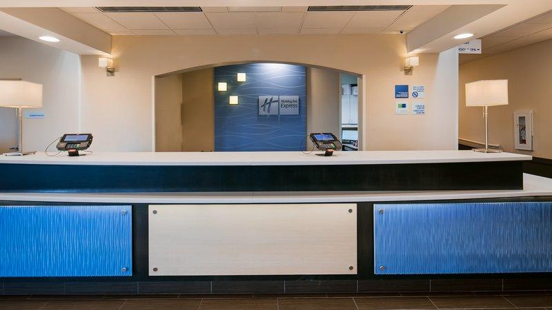 Holiday Inn Express Bellingham-Front Desk<br/>Image from Leonardo
