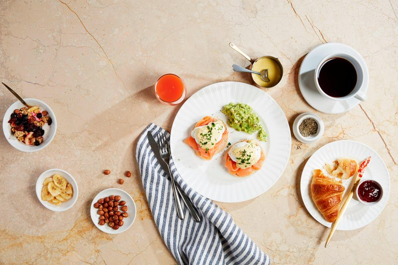 Bournemouth Highcliff Marriott Hotel-Brasserie Blanc - Breakfast<br/>Image from Leonardo