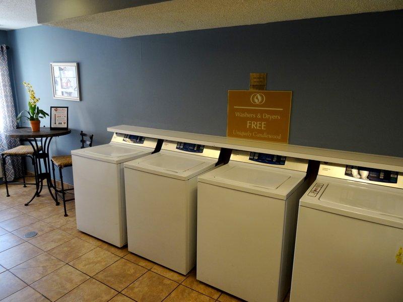 Candlewood Suites Boston-Burlington-Complimentry Laundry Facility<br/>Image from Leonardo