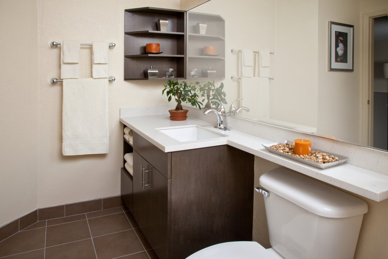 Candlewood Suites Baltimore - BWI Airport-Guest Bathroom<br/>Image from Leonardo