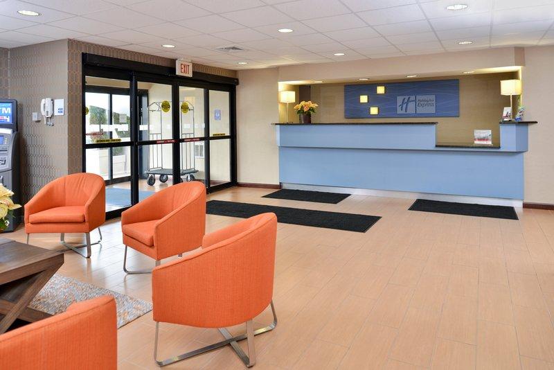 Holiday Inn Express Providence - North Attleboro-Lobby<br/>Image from Leonardo