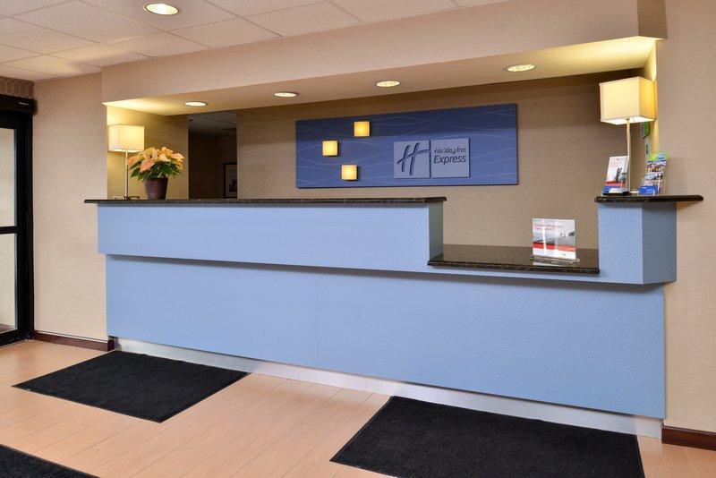 Holiday Inn Express Providence - North Attleboro-Front Desk<br/>Image from Leonardo