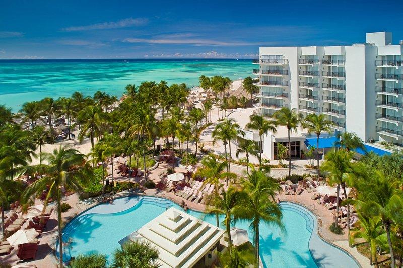 Aruba Marriott Resort - Aerial Resort View <br/>Image from Leonardo