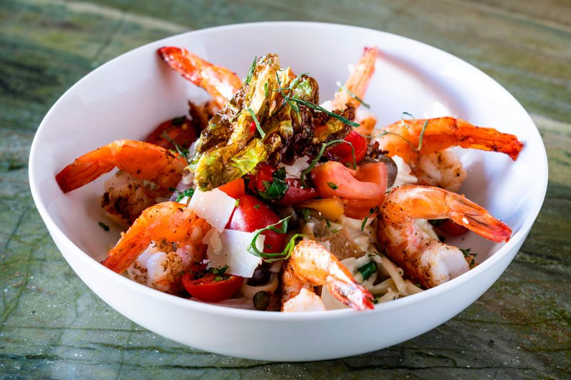 Kauai Marriott Resort-Kukui's on Kalapaki Beach - Shrimp Scampi<br/>Image from Leonardo