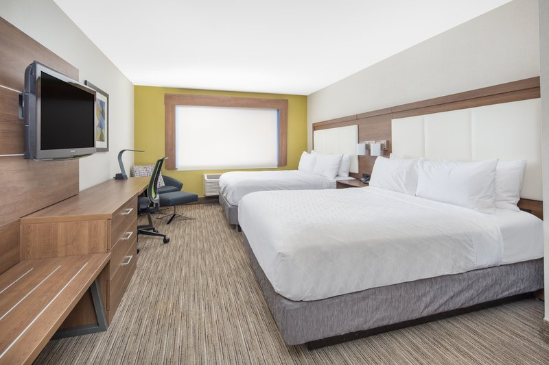 Holiday Inn Express & Suites Bishop-2 Queen bed Executive room with Sofa Sleeper<br/>Image from Leonardo