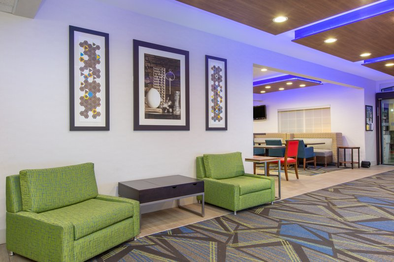 Holiday Inn Express & Suites Bishop-Relax in the lobby while you wait to check in<br/>Image from Leonardo