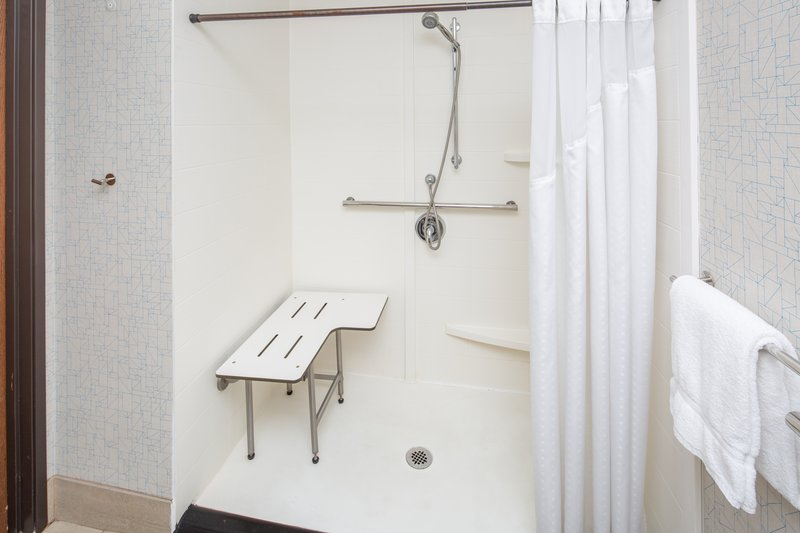 Holiday Inn Express & Suites Bishop-Roll In Shower<br/>Image from Leonardo