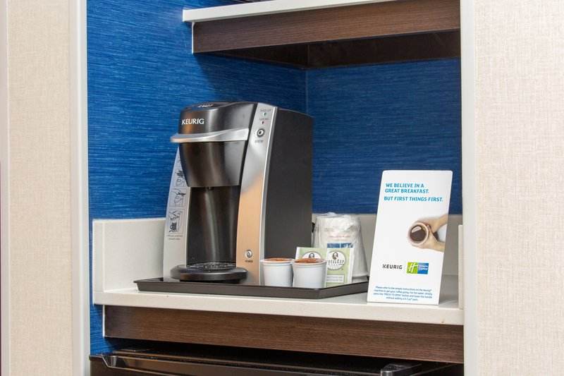 Holiday Inn Express & Suites Bishop-Keurig Machines in every room<br/>Image from Leonardo