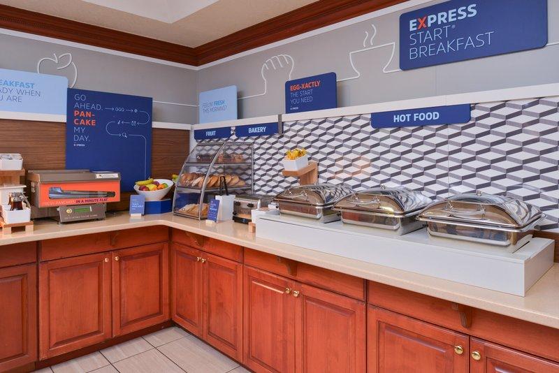 Holiday Inn Express Campbellsville-Breakfast Bar<br/>Image from Leonardo