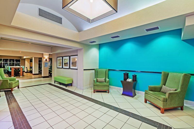 Holiday Inn Express & Suites Eagle Pass-Hotel Lobby<br/>Image from Leonardo