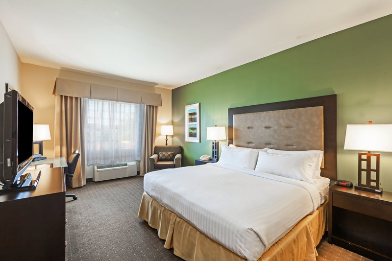 Holiday Inn Express & Suites Eagle Pass-King Bed Guest Room<br/>Image from Leonardo