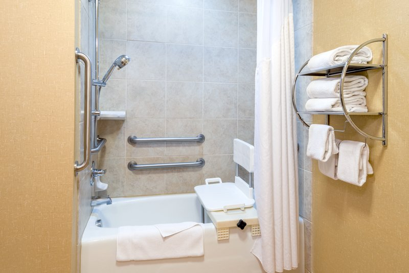 Holiday Inn Hotel & Suites Grand Junction-Airport-Our ADA Guestroom Baths have devices to make travel easier<br/>Image from Leonardo