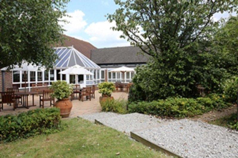Holiday Inn Maidstone - Sevenoaks-Courtyard and garden room<br/>Image from Leonardo