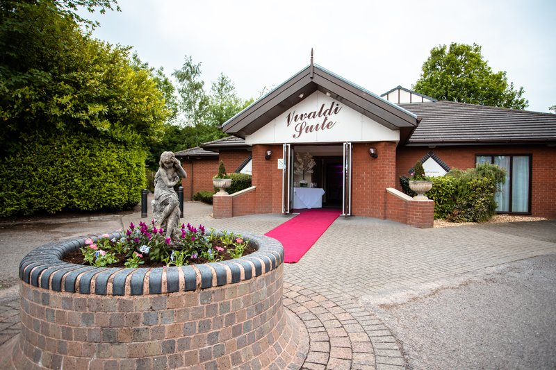 Holiday Inn A55 Chester West-Private Function Suite Entrance <br/>Image from Leonardo