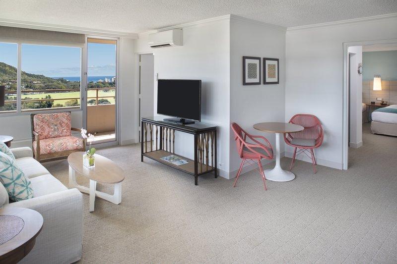 Queen Kapiolani Hotel - QKH PHO Living Dining Area <br/>Image from Leonardo