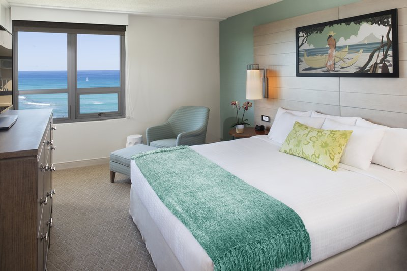 Queen Kapiolani Hotel - QKH QKO1K Bedroom <br/>Image from Leonardo