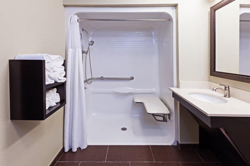 Staybridge Suites Tulsa - Woodland Hills-Guest Bathroom<br/>Image from Leonardo