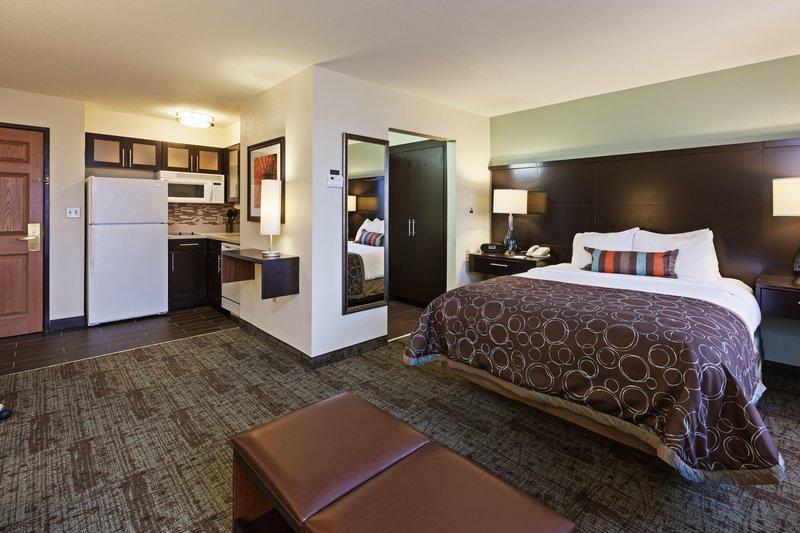 Staybridge Suites Tulsa - Woodland Hills-Single Bed Guest Room<br/>Image from Leonardo