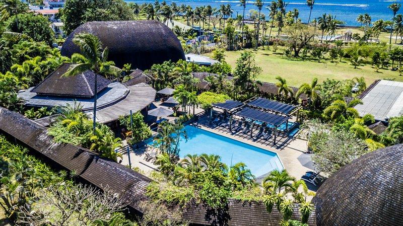 Tanoa Tusitala Hotel-Aerial View<br/>Image from Leonardo