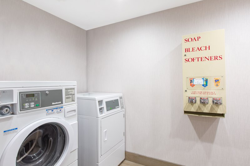 Holiday Inn Express & Suites Bishop-Laundry Facility <br/>Image from Leonardo