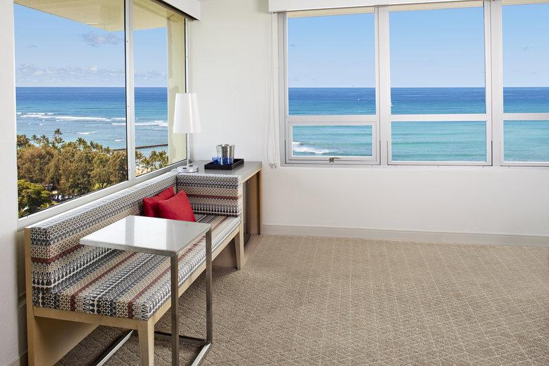 Queen Kapiolani Hotel - QKH POV Ocean Front View <br/>Image from Leonardo