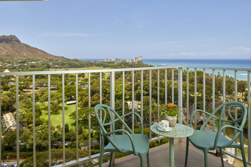 Queen Kapiolani Hotel - QKH POV Balcony <br/>Image from Leonardo