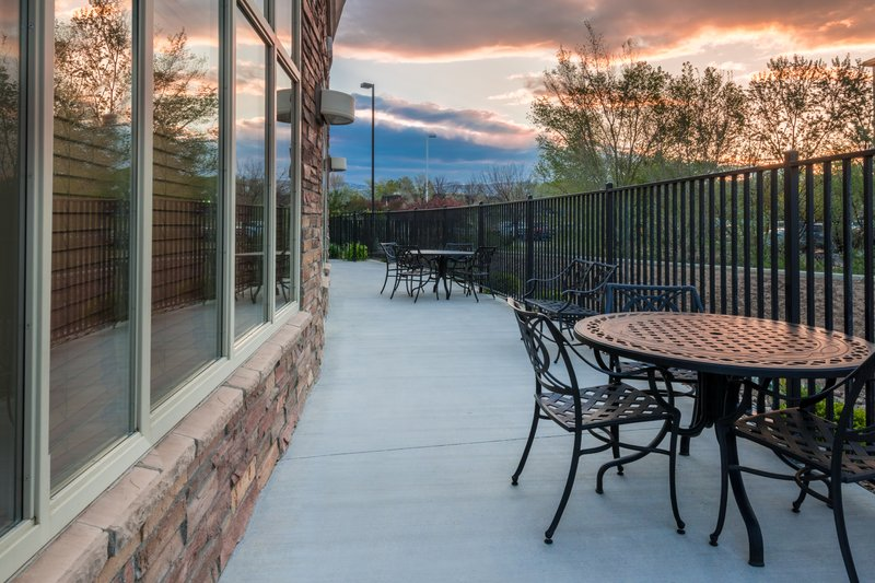 Holiday Inn Hotel & Suites Grand Junction-Airport-Relax and enjoy a Western Slope Sunset on the Patio<br/>Image from Leonardo