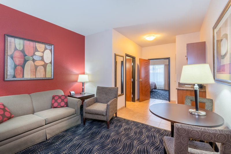 Holiday Inn Hotel & Suites Grand Junction-Airport-Our king suite offers you room to relax while traveling <br/>Image from Leonardo