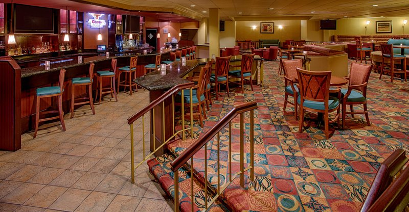 Crowne Plaza Austin-Crossroads Lounge featuring happy hour daily<br/>Image from Leonardo