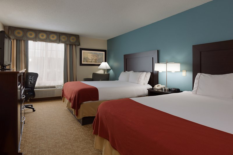 Holiday Inn Express Winston-Salem-Double Queen Guest Room, Rest Well, Family Reunions, Sports Teams<br/>Image from Leonardo