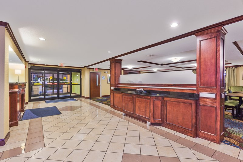 Holiday Inn Express Winston-Salem-Spacious lobby, Tour Groups, 6.2 miles from Wake Forest University<br/>Image from Leonardo