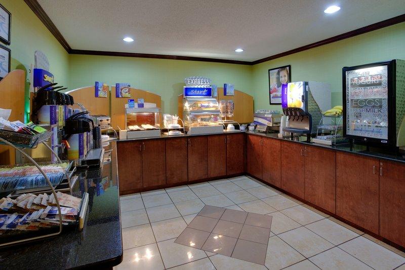 Holiday Inn Express Winston-Salem-Complimentary Breakfast Bar, Healthy Choices, Chobani Greek Yogurt<br/>Image from Leonardo