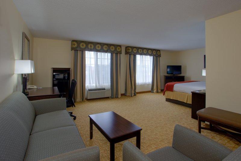 Holiday Inn Express Winston-Salem-King Suite Living Area<br/>Image from Leonardo