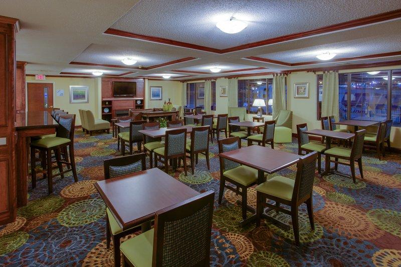 Holiday Inn Express Winston-Salem-Complimentary Breakfast, Healthy Start Options<br/>Image from Leonardo