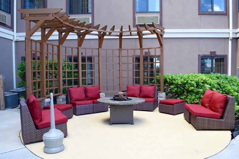 Staybridge Suites Houston Stafford - Sugar Land-Guest Patio<br/>Image from Leonardo